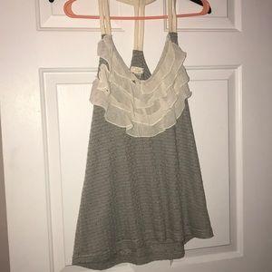 Tops - Women's Gray Top Size L